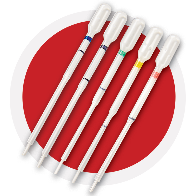 PTS Collect Capillary tubes all 5 preset volumes